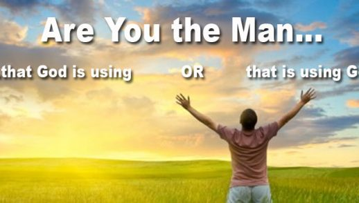 Are You The Man...?